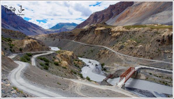 Mountain roads, Kaza to Manali