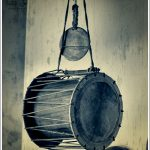 Traditional temple drums