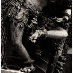 One of the many statues of dancers at Halebid in Karnataka