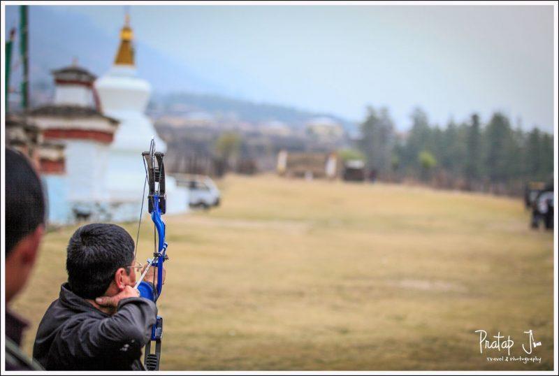 Archery in Paro