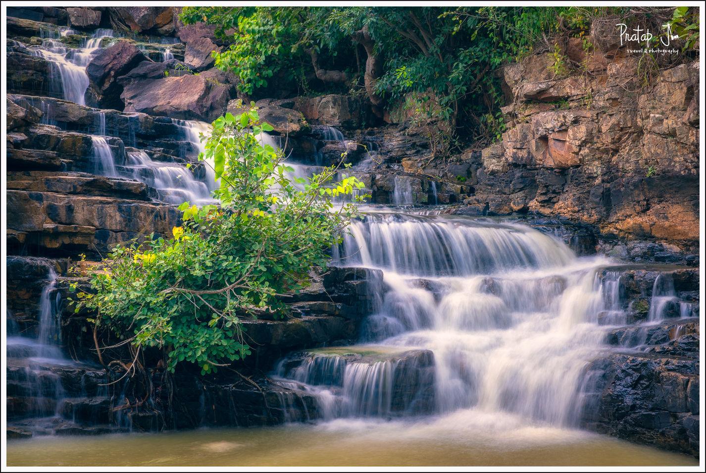Chitradhara Waterfall in October