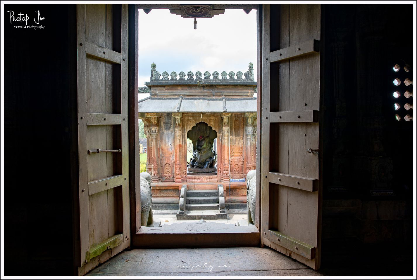 Doorway a the Ikkeri Temple