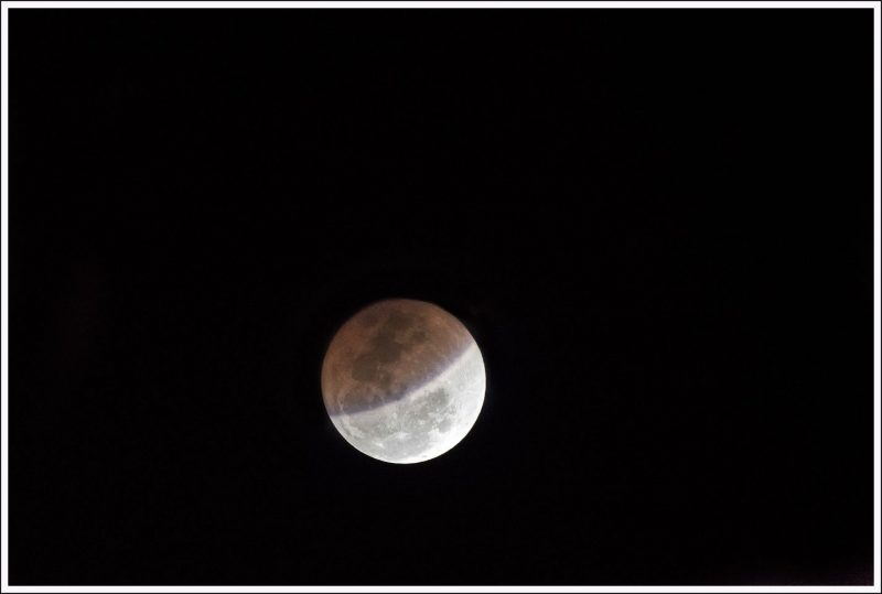 Total Lunar Eclipse from Bangalore on Jan 31