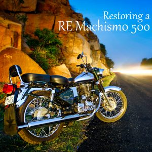 Painting and Restoring a Royal Enfield Bullet