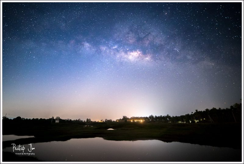 Photo of Milky Way on the Kanakapura Sangama road