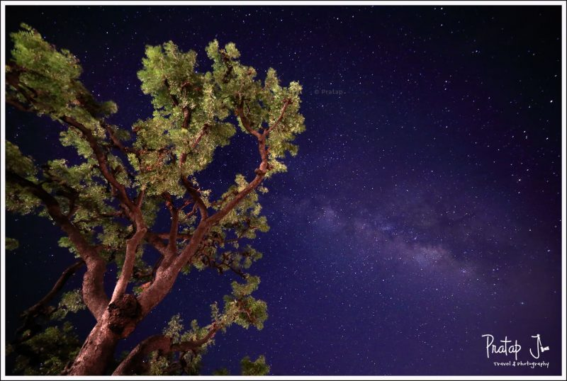 Milky Way at Badami