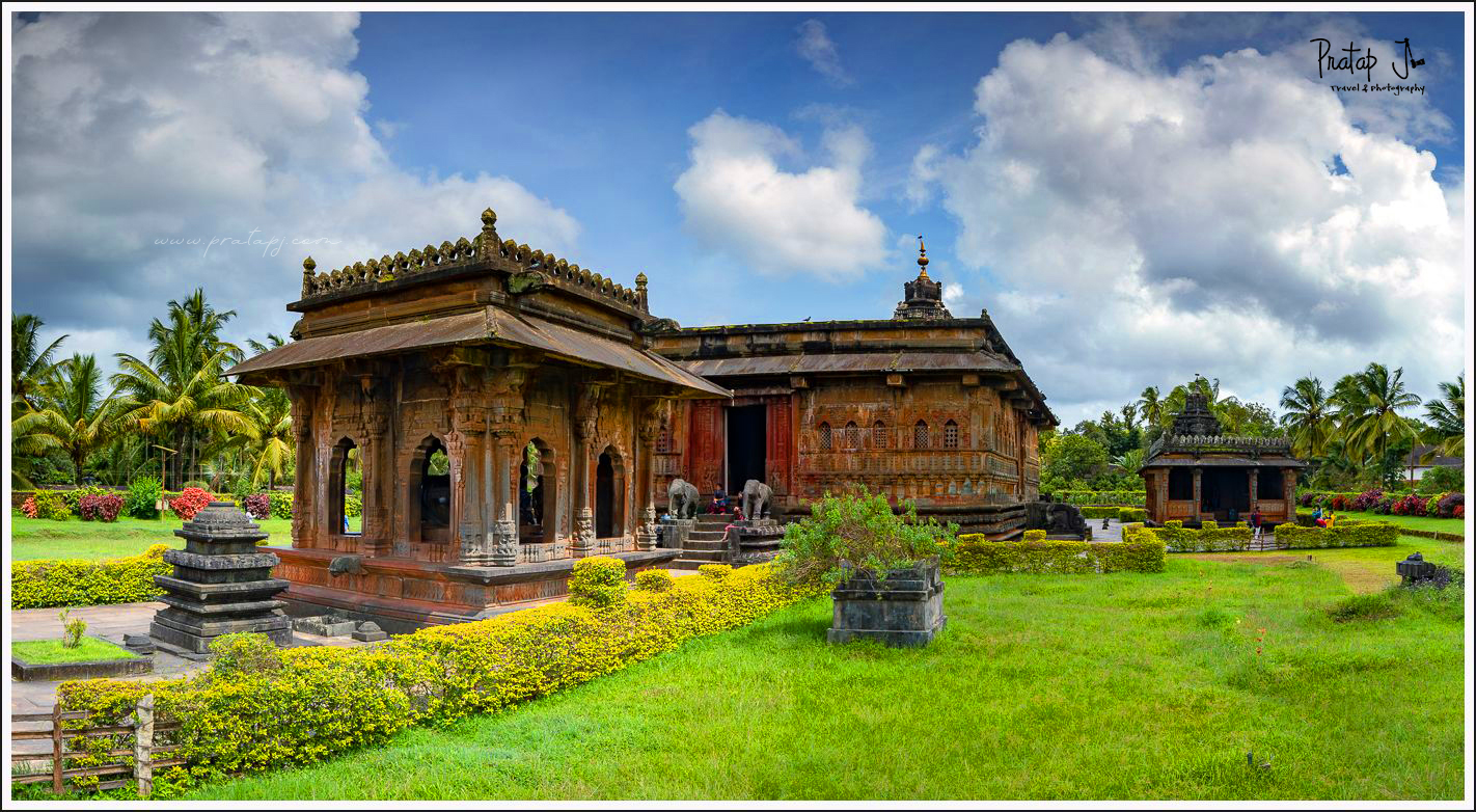 Panaromic view of Ikkeri Temple