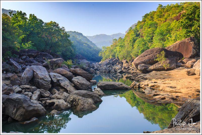 Picnic spot deep inside the Satpura Tiger Reserve