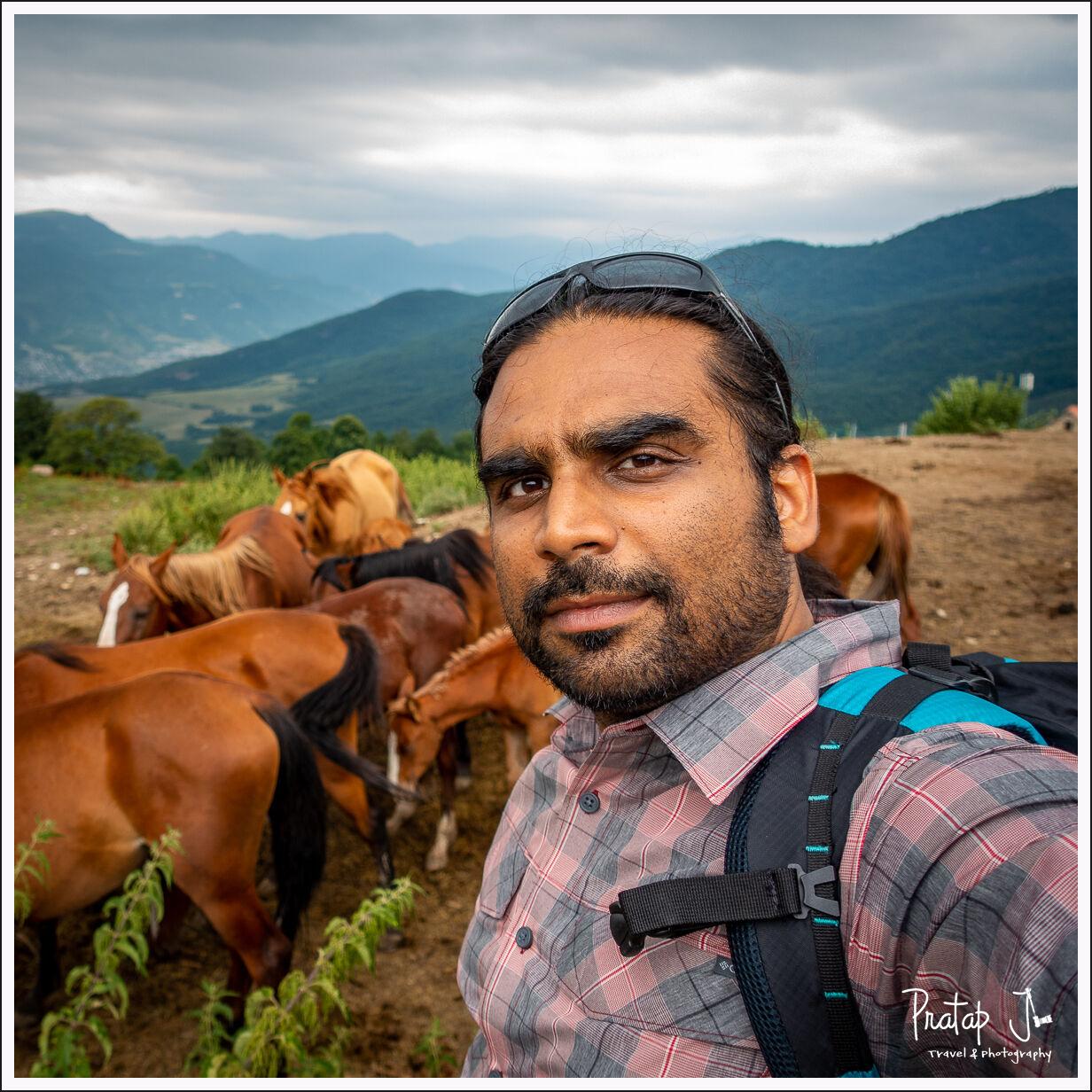 Indian in Armenia