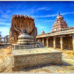 Linga at Lepakshi Temple near Bangalore