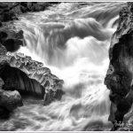 Closeup of the River Cauvery
