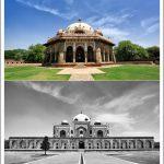 Isa Khan Humayan Tomb in Delhi