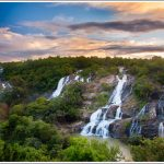 Bara Chukki Falls at Shivanasamudra or Simsha