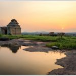 Sunset from Hemakuta Hill in Hampi