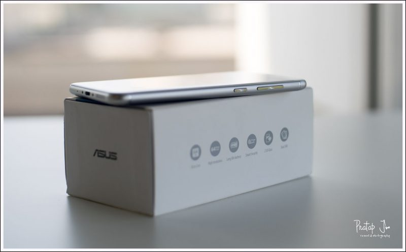 Side profile of the Asus Zenphone 3 Max