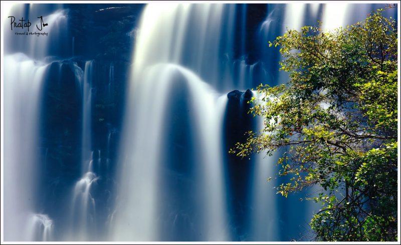 Juxtaposition at Sathodi Falls