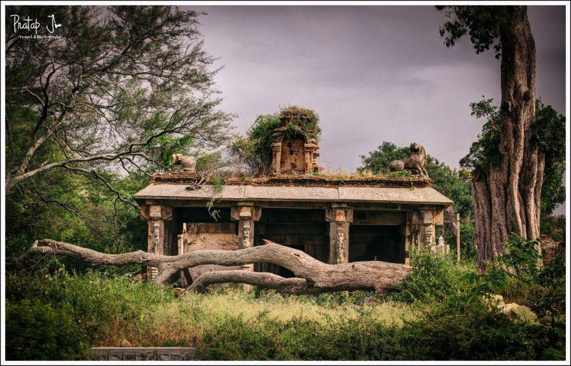 Old Ruined Temple Near Akka Thangi Kola