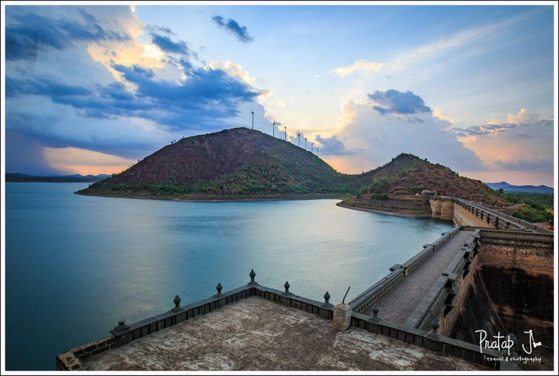 Bracketed image of Vani Vilas Sagar Dam