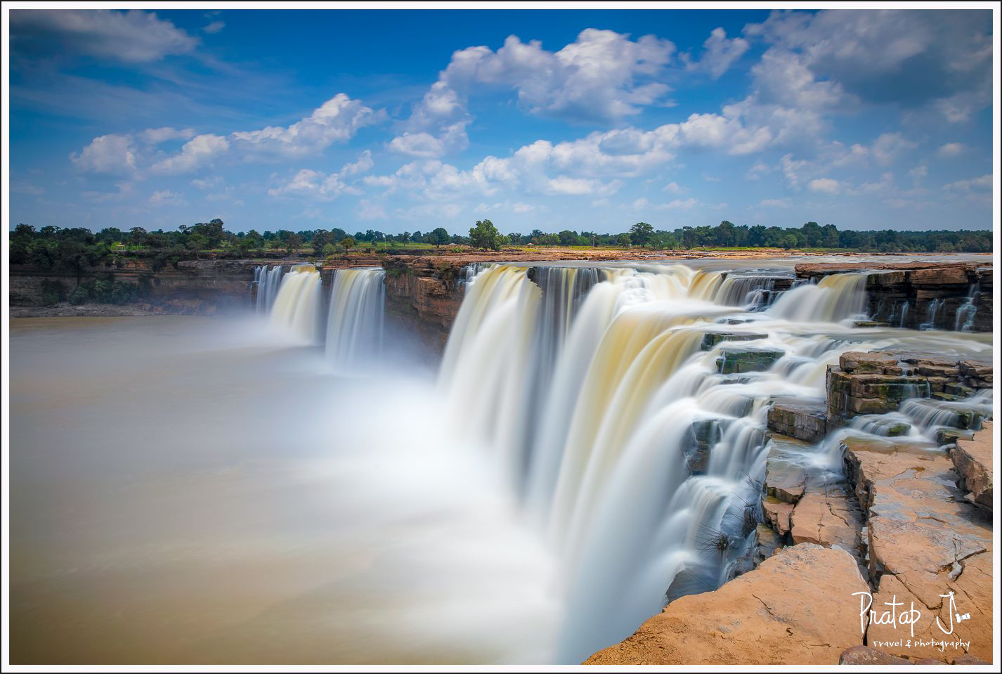 Chitrakote Falls from top